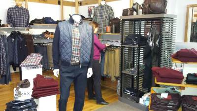 Inside the Alpaca Clothing Co shop - brax clothing