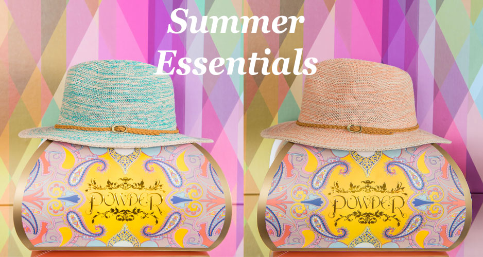 Powder summer essentials